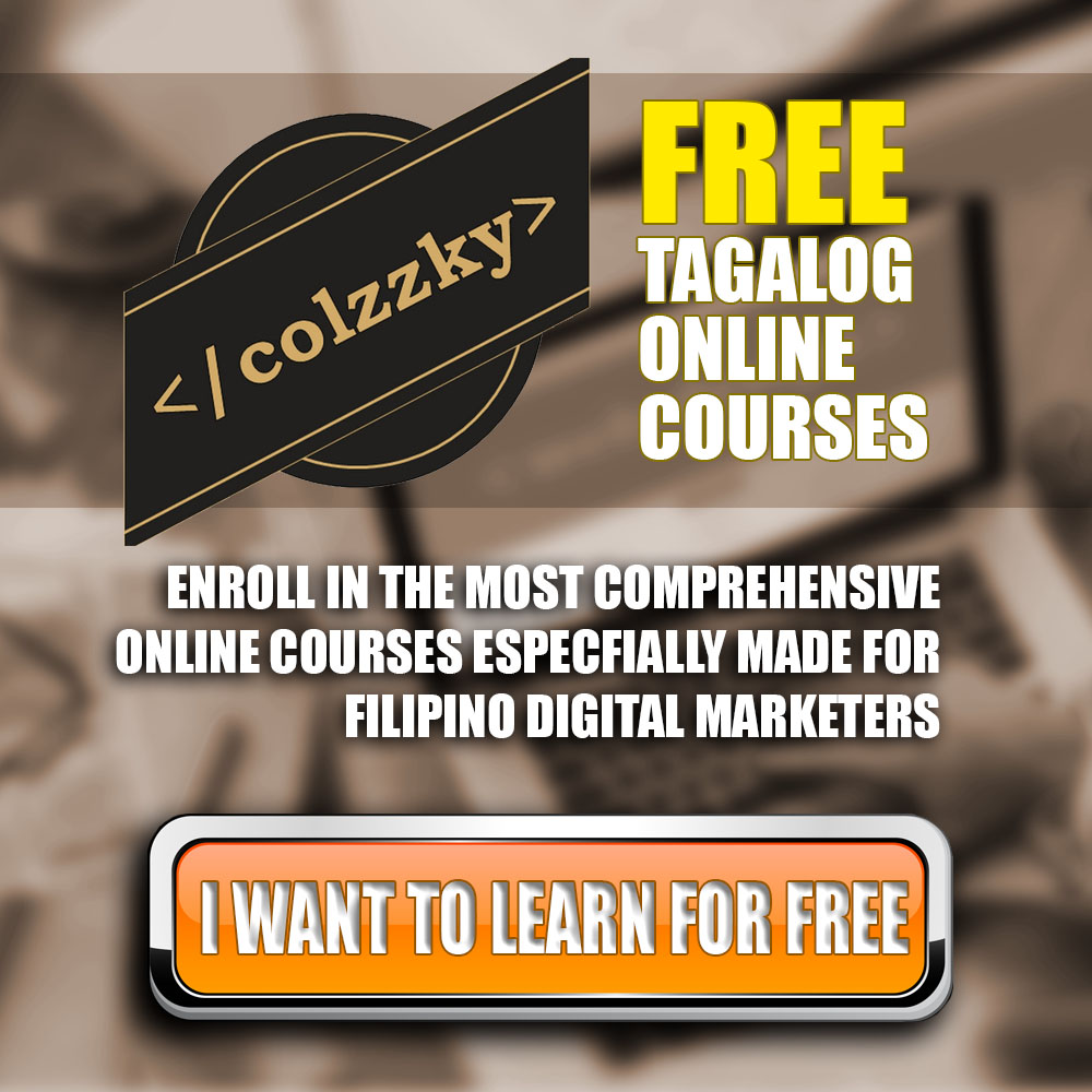 Enroll in Tagalog online course with Colzzky