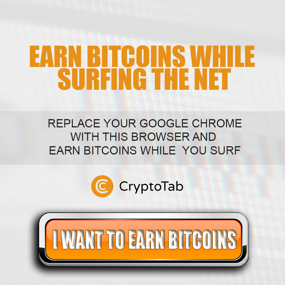 Use a browser that gives you free bitcoins as your surf the web